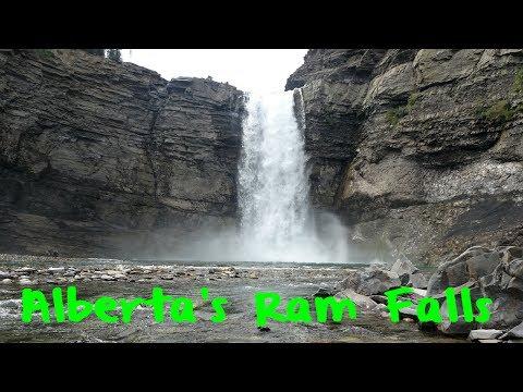 Alberta's Ram River Falls