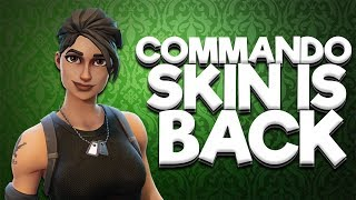 RARE *COMMANDO SKIN* IS BACK! Fortnite ITEM SHOP 6th August