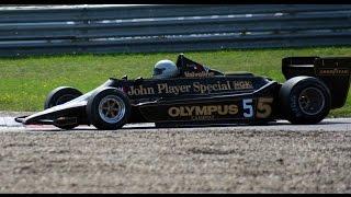 Lotus 76 - Lotus 77 - Lotus 79 (Pure Sound) at Historic Grand Prix 2014