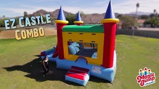 Ez Castle Combo - Inflatable Bounce And Slide Combo | Magic Jump, Inc.