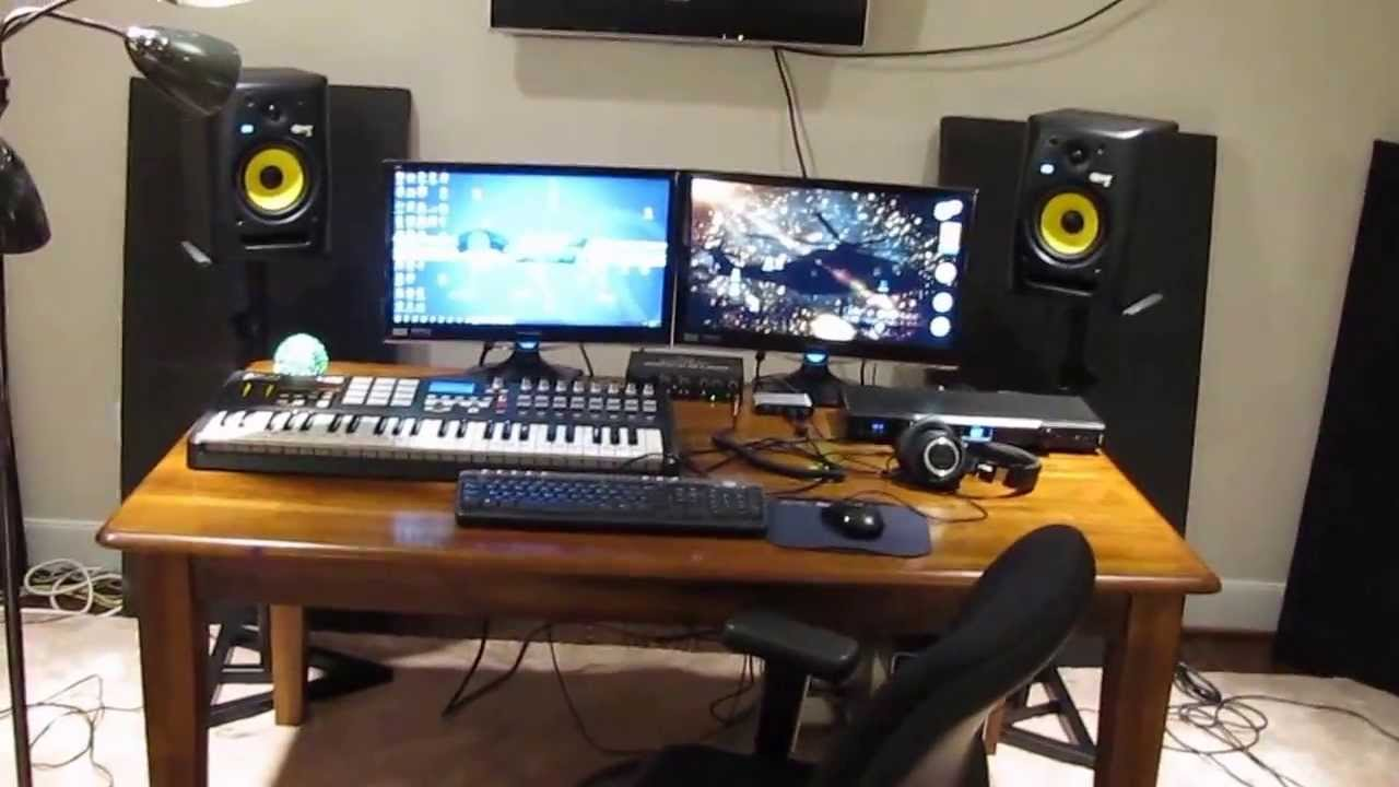 New Studio Setup Houston 2013 Youtube