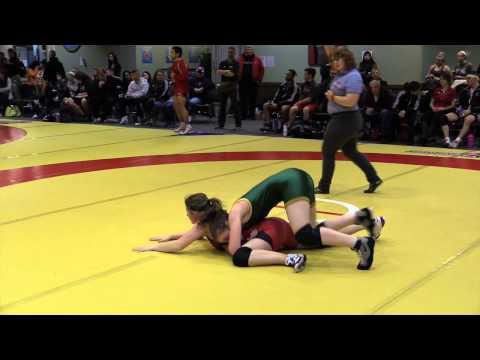 2014 Wesmen Open: 55 kg Morgan Hill vs. Vickie Busch