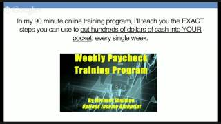 The Weekly Paycheck Plan