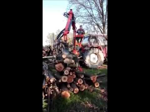 Agri Sav Caricatore Forestale P A S 600 Youtube