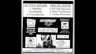 Active Minds - Freak Show - Split 7""