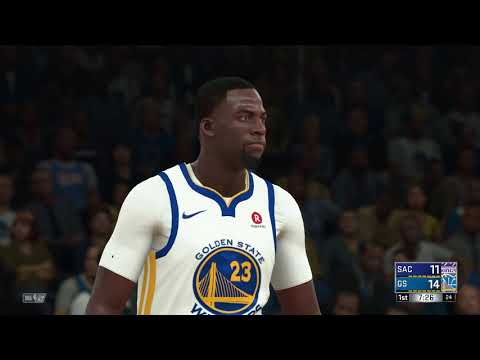 NBA 2K18 Sacramento Kings vs Golden State Warriors