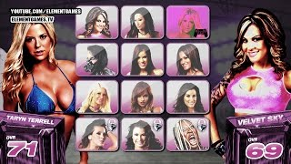 TNA IMPACT WRESTLING 2015 Gameplay : PS4, Xbox one - Knockouts - EP #4 Notion