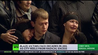 'Neo-fascists killed my son!' Fear, frustration & grief grips Odessa