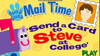 Blue's Clues - Send A Card To Steve (2002 Flash Activity)