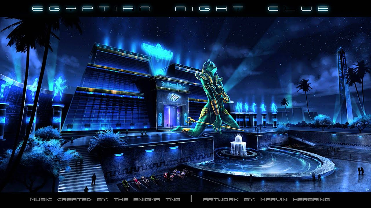 Club Floor Plan Dark Synthwave Egyptian Night Club Youtube