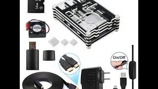 Raspberry pi Case Video Installation: Smraza RPi 3, Model B 9 Layers Case Assembly Instruction