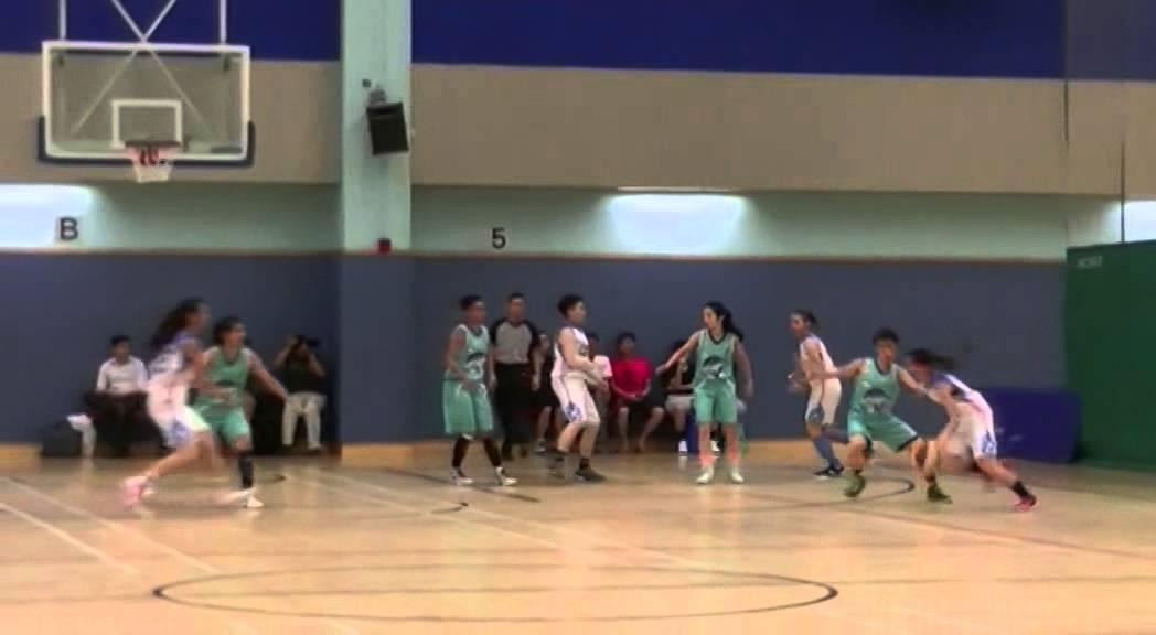 2015年香港籃球聯賽女子甲組比賽:閩星 VS 安青 20150610-1 - YouTube