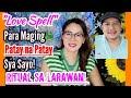 Love Spell Para Maging Patay na Patay Sya Sayo! | RITWAL sa Larawan