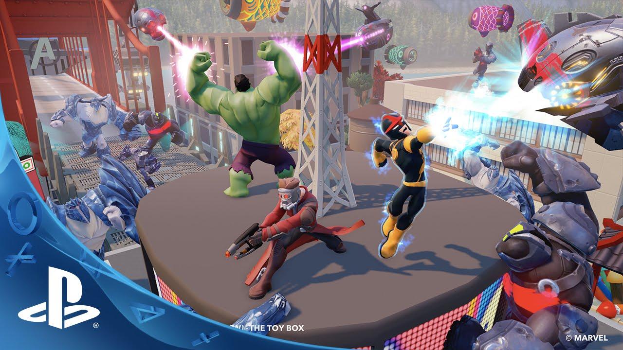 Disney Games For Ps4 : Disney infinity marvel super heroes edition walk