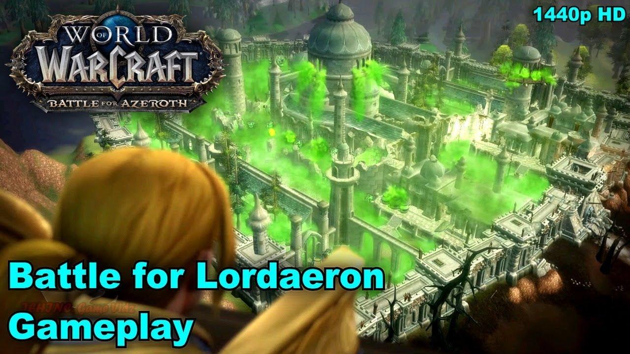 WoW: BFA - Battle For Lordaeron Gameplay