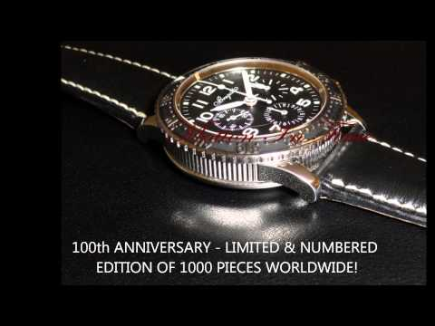 Breguet Type XX Aeronavale 100th Anniversary Chronograph Flyback Stainless Steel - 3803ST