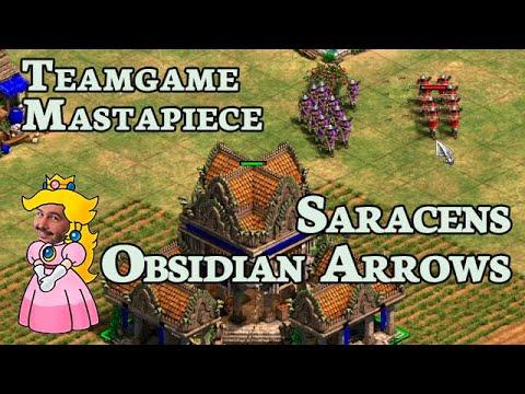 Teamgame Mastapiece   Saracens + Obsidian Arrows X2   #5