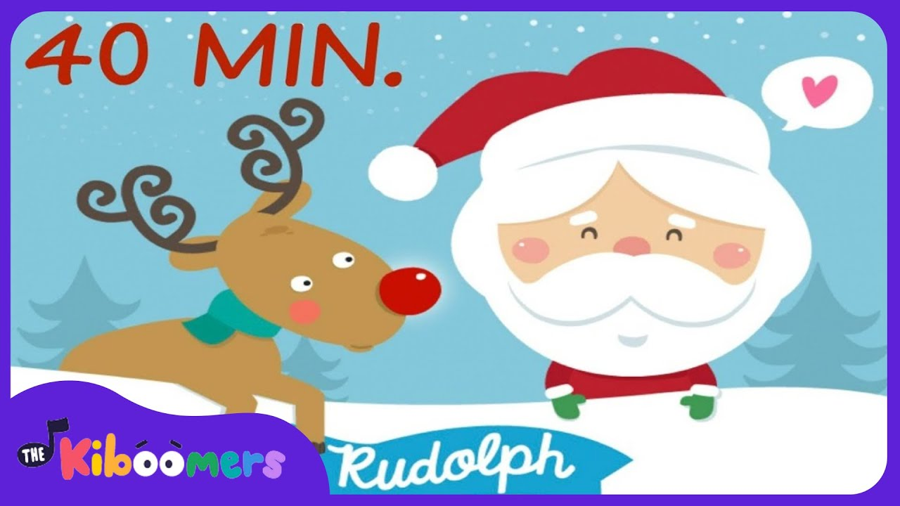 christmas songs for kids rudolph the red nosed reindeer reindeer pokey the kiboomers - Christmas Songs Rudolph The Red Nosed Reindeer