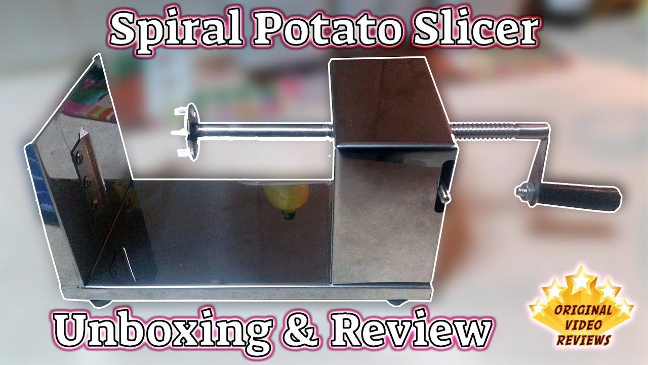 Manual Metal Spiral Potato Slicer Review