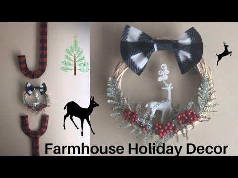 Dollar Tree Farmhouse Christmas DIY   JOY Holiday Sign