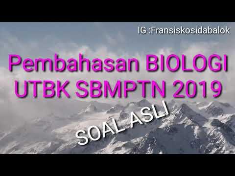 Soal Biologi UTBK SBMPTN 2019 Eps 2