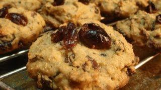 Healthy Vegan Cranberry Cookies - Recipe