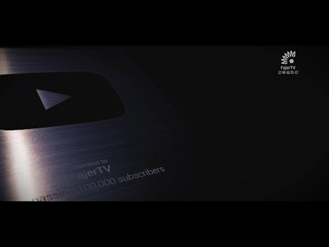 FajerTV 100000 Youtube Subscribers Silver Award !
