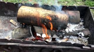 Маринуем шашлык из курицы и свинины в кефире, первое видео.