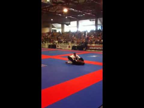 Michael DeLuca Black Belt Match Boston Open