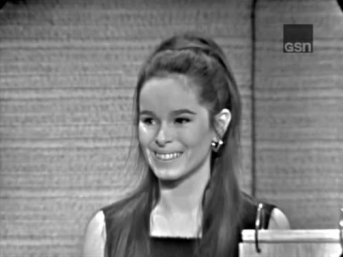 What's My Line? - Geraldine Chaplin; PANEL: Steve Allen, Martin Gabel (Jan 2, 1966)