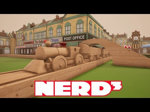 Nerd³ Recommends Tracks - The Train Set Game