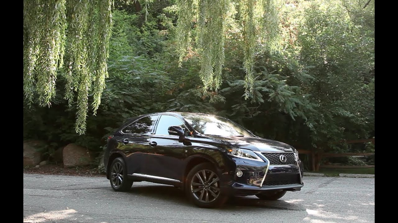 2013 Lexus RX 350 F-Sport Review - F-Sport barks but doesn\'t bite ...