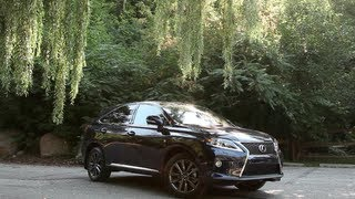2013 Lexus RX 350 F-Sport Review - F-Sport barks but doesn't bite