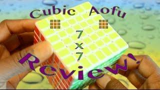 moyu cubic aofu 7x7 review   compared to the shengshou and pillowed aofu