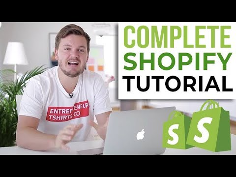 2019 Shopify Tutorial & Demo For Beginners - Complete Easy Guide From Start To Finish 2019!