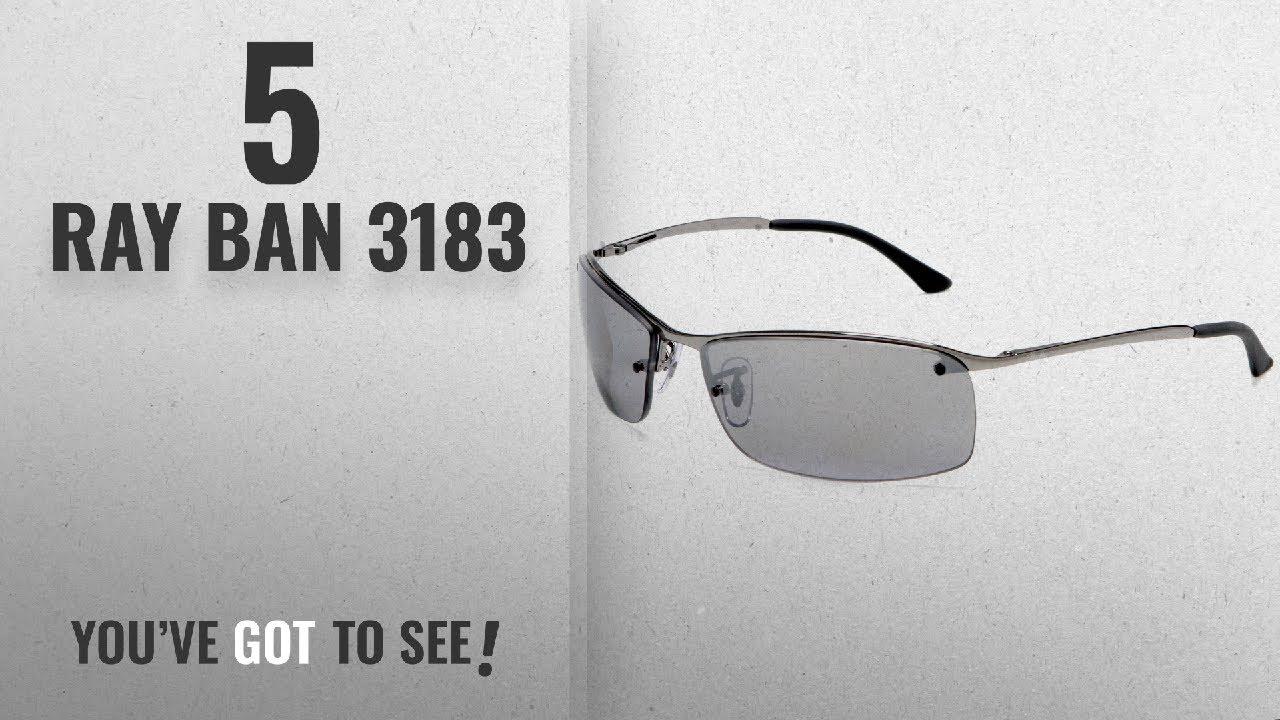 17a13bbea4 Top 10 Ray Ban 3183   Winter 2018    Ray-Ban RB3183 - GUNMETAL Frame ...