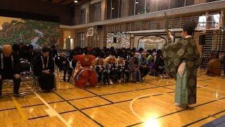 地芝居 新富座こども歌舞伎 を支える町衆