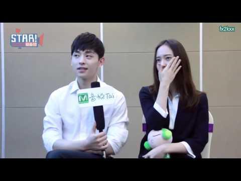 "[ENG SUB] 160701 - Krystal x STAR!调查团 ""Graduation Season"" Interview w/ DengLun"