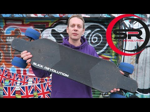 Flex-Eboard the Best Electric Skateboard from the UK? Slick