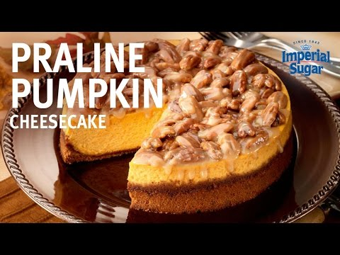 How to Make Praline Pumpkin Cheesecake by Chef Eddy Van Damme
