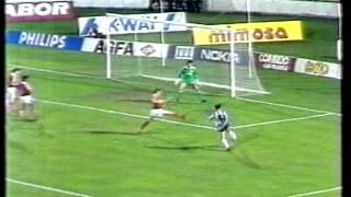 Benfica v Derry City European Cup 1989-90