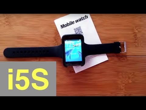 """Bakeey i5S Large Rectangular 2.2"""" Screen Dual-Mode Convertible WATCH/PHONE: Unboxing & Review"""