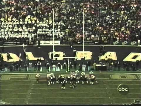 #1 Nebraska at #15 Colorado 2001