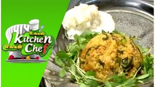 Varagu Arisi Vendhaya Keerai Sadam – Ungal Kitchen Engal Chef (27/02/2015)