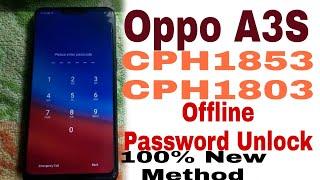 Oppo A3S Pin Unlock Mrt