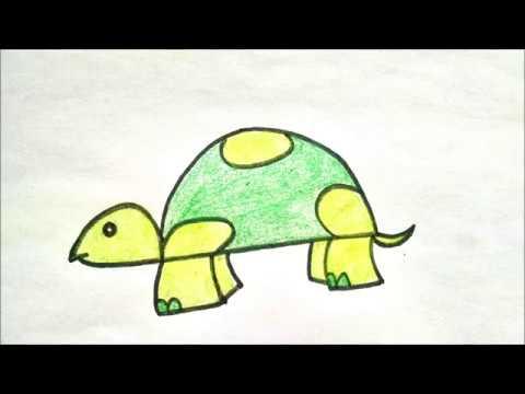Turtles drawings for kids