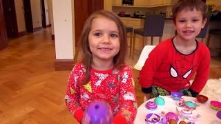 2 дня БЕЗ МАМЫ / Макс говорит на английском и французском/ Подарок/ Игрушки CakePop Cuties