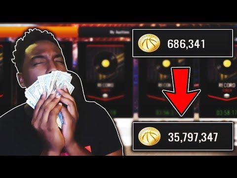 HOW TO MAKE MILLIONS OF COINS IN NBA LIVE MOBILE 19!!!