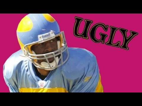 bfc29e1424c THE FIVE UGLIEST UNIFORMS IN NFL HISTORY - YouTube