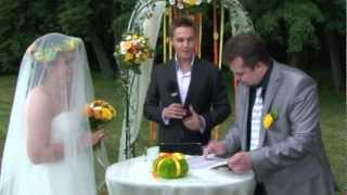Выездная регистрация, ведущий Антон Михайленко.mov